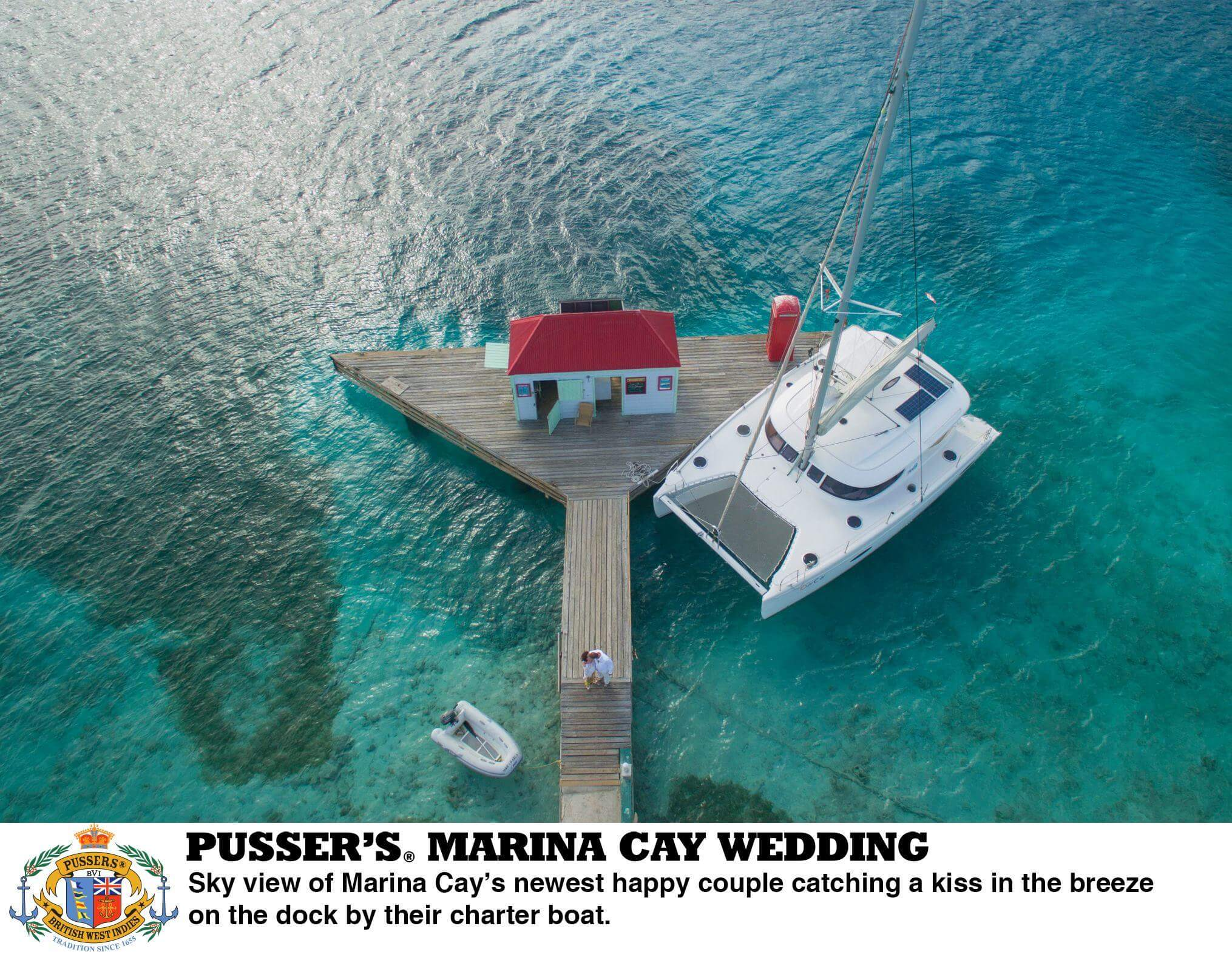 Pusser's Marina Cay – The Perfect setting for a Caribbean Wedding Celebration!