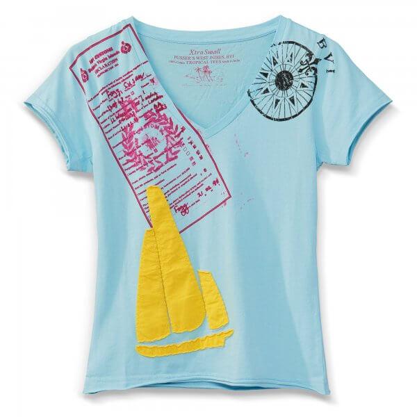 Sailboat,Green, Light Blue, White, Yellow