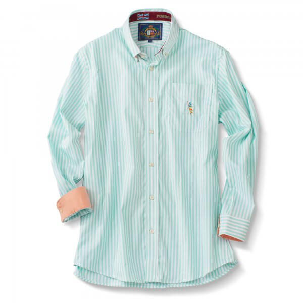 Stripe L/S Oxford