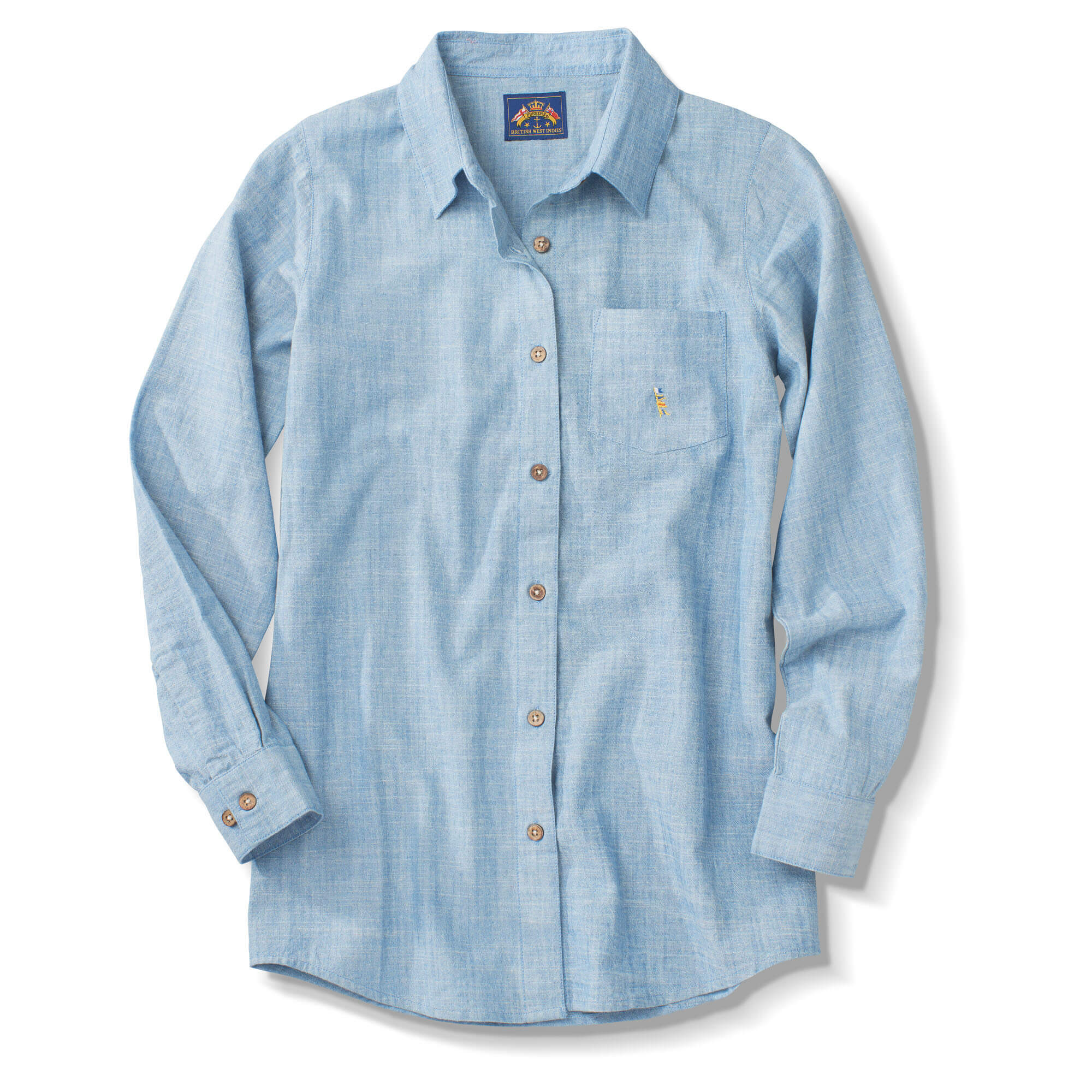 ddb56f1f95 Long Sleeve Classic Chambray