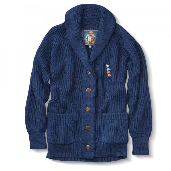Pusser's Pima Cotton Shawl Collar Cardigan