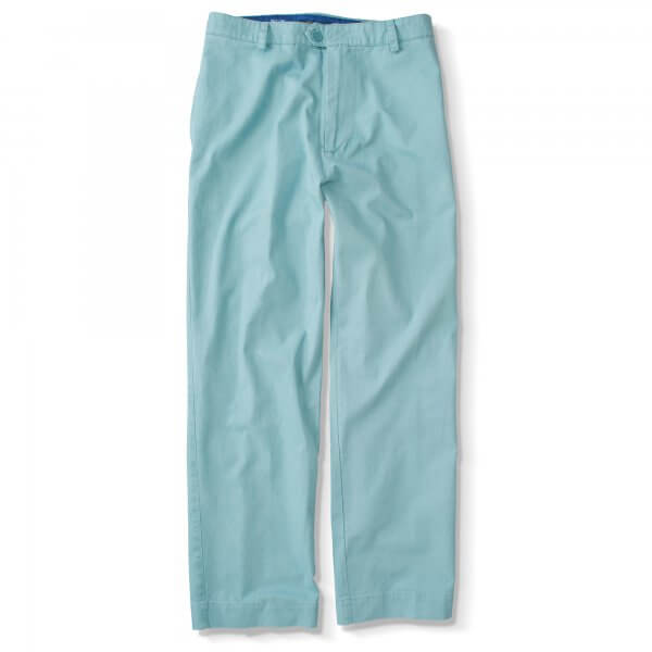Chinos, No Pleats, No Waist Tabs