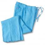Linen Strollers,White,Blue
