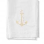 Capri W/Anchor,White