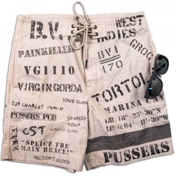 Pusser's Stencil Shorts