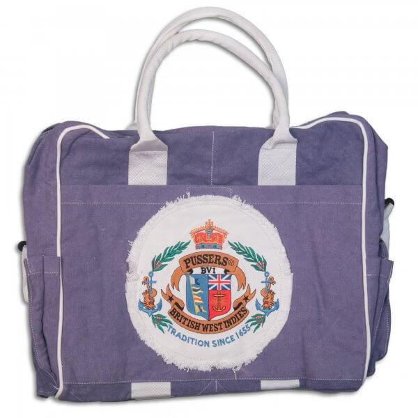 Bag, Soft Canvas, Oval Logo
