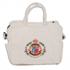 Bag, Soft Canvas, Oval Logo
