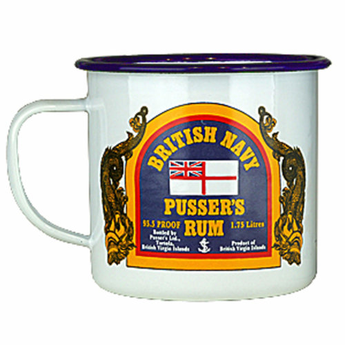 Pusser's Rum Tin Mug