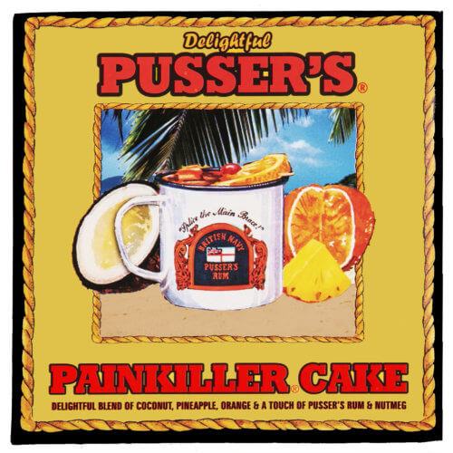 Pusser's Rum & Painkiller® Cakes